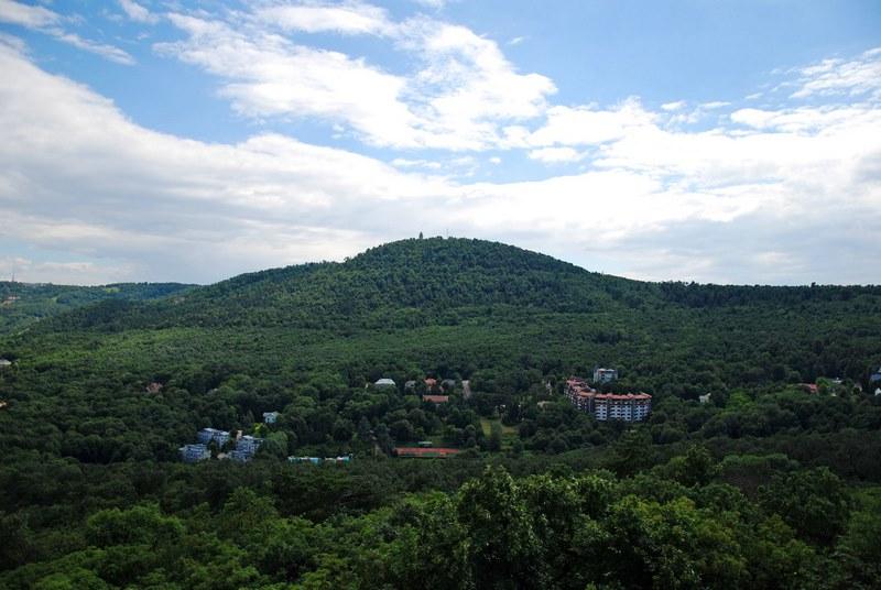 Kilátás a János-hegyre